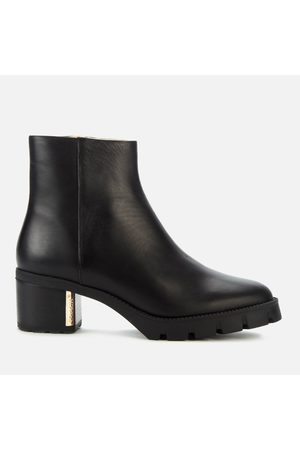 Coach Women's Chrissy Leather Heeled Ankle Boots
