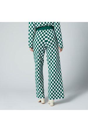KITRI Women Pants - Women's Kara Checker Knitted Trousers