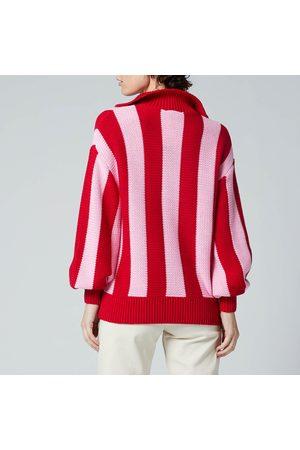 KITRI Women Sweaters - Women's Lorna Stripe Cotton Sweater