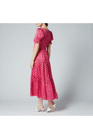 KITRI Women Midi Dresses - Women's Persephone Checker Dress
