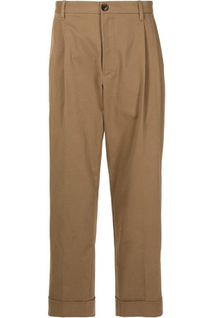 Ports V Straight Leg Pants - Turned-hem straight-leg trousers