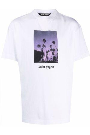 Palm Angels Photograph-print short-sleeve T-shirt
