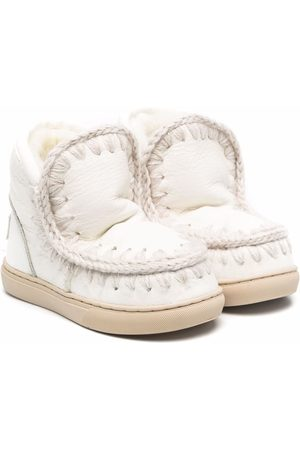Mou Girls Snow Boots - Shearling lined boots