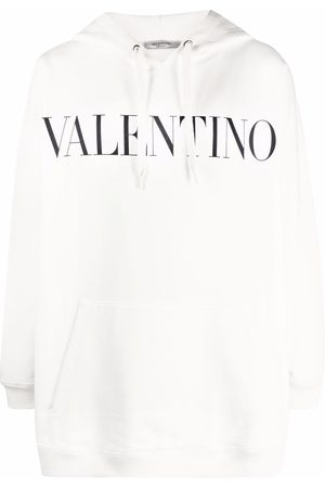 VALENTINO Logo-print hoodie