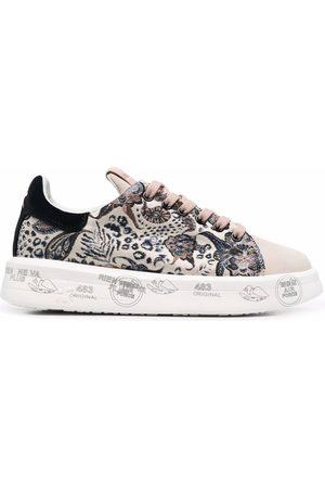 Premiata Women Sneakers - Belle graphic print sneakers - Neutrals