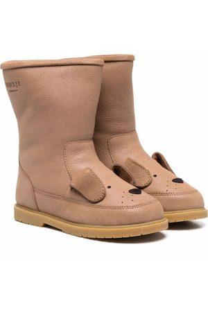 Donsje Girls Ankle Boots - Wadudu animal pop-ears boots