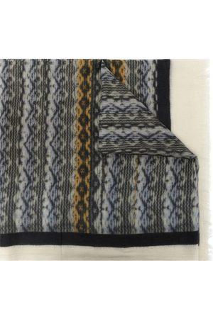 N.PEAL Geometric-print cashmere scarf - Multicolour