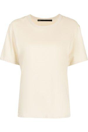 Muller Of Yoshiokubo Women Short Sleeve - Short-sleeve flared top - Neutrals