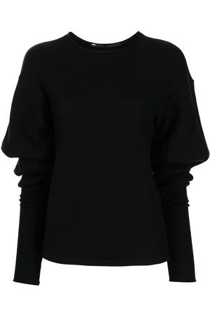 Muller Of Yoshiokubo Ruched pullover jumper