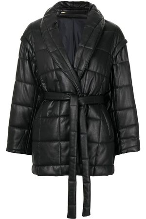 Muller Of Yoshiokubo Belted padded jacket