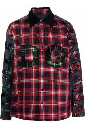 Dolce & Gabbana Men Shirts - Contrast-panel shirt