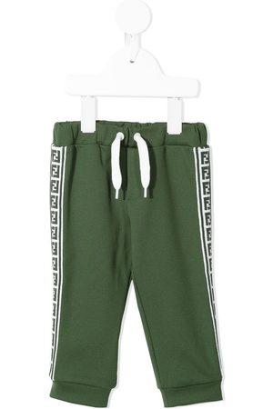 Fendi FF-stripe trackpants