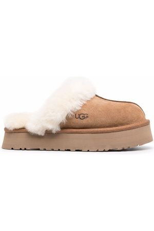 UGG Disquette suede slippers - Neutrals