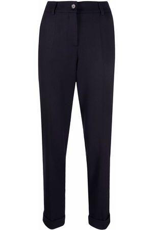 P.a.r.o.s.h. Turn-up hem trousers
