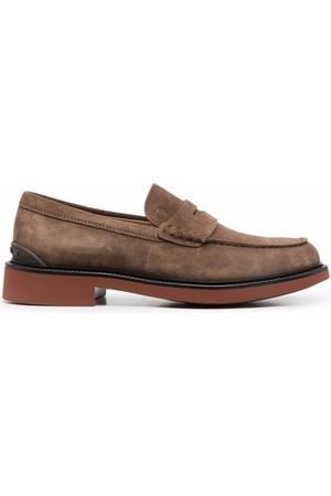 Tod's Men Loafers - Suede-leather loafers - Neutrals