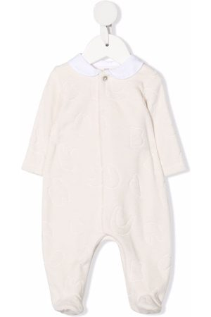 KNOT Quilted organic cotton pajamas - Neutrals
