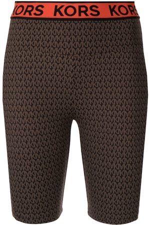 Michael Kors Women Shorts - MK Go-print biker shorts