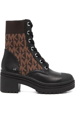 Michael Kors Brea monogram-print ankle boots