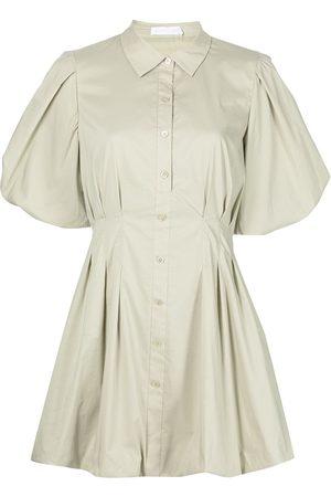 JONATHAN SIMKHAI Women Casual Dresses - Cleo puffball shirtdress