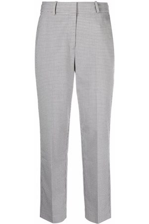 Tommy Hilfiger Slim-check ankle-length pants - Grey