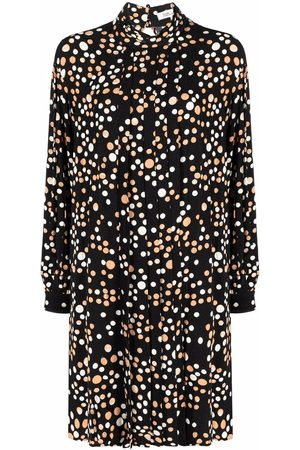 Diane von Furstenberg Women Casual Dresses - Polka-dot shirt dress