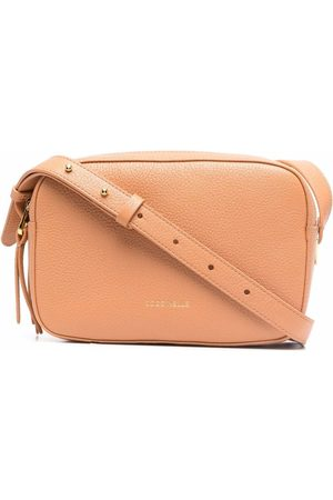 Coccinelle Women Shoulder Bags - Leather cross body bag - Neutrals