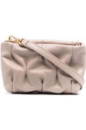 Coccinelle Ophelie leather crossbody bag - Neutrals
