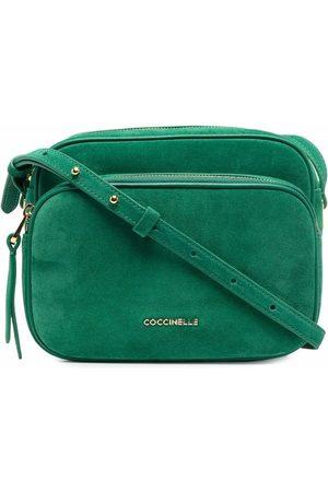 Coccinelle Lea logo-plaque crossbody bag