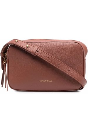 Coccinelle Pebbled-texture crossbody bag