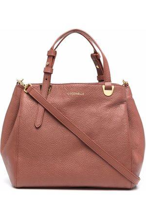 Coccinelle Lea grained tote bag