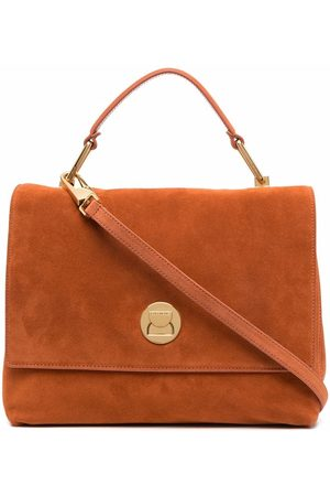 Coccinelle Liya suede tote bag
