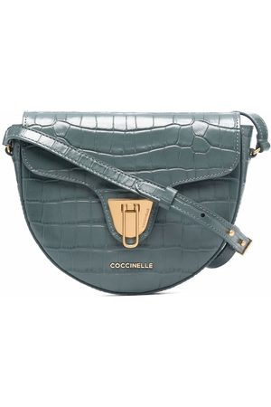 Coccinelle Beat crocodile crossbody bag
