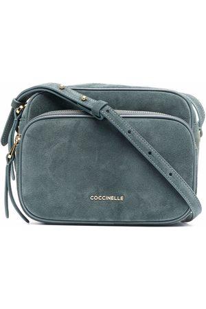 Coccinelle Women Shoulder Bags - Lea suede crossbody bag