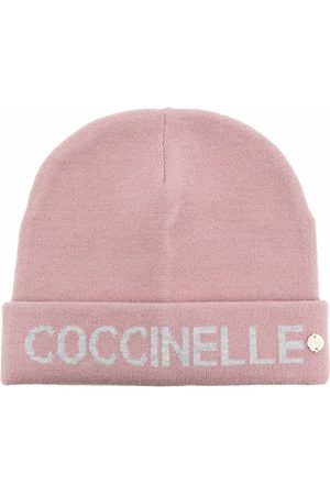 Coccinelle Logo knitted beanie