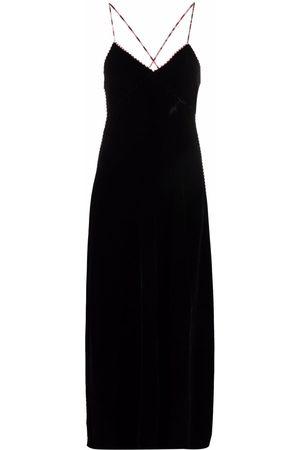 M Missoni Cross-strap maxi dress