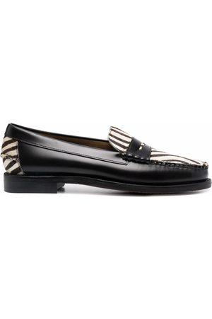 SEBAGO Zebra-print loafers
