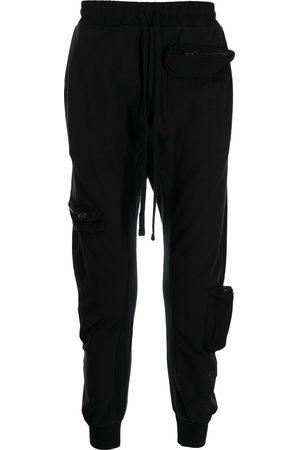 THOM KROM Multi-pocket skinny track pants