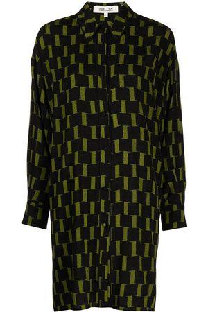 Diane von Furstenberg Women Casual Dresses - Jorge mini shirt dress