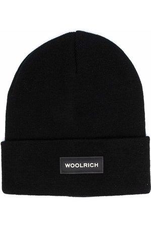 Woolrich Logo-patch beanie