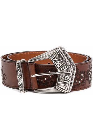Etro Embossed-design belt