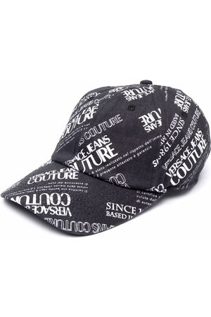VERSACE All-over logo print cap