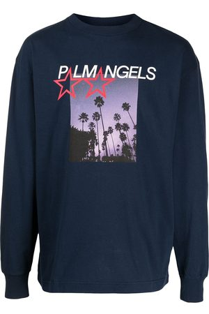 Palm Angels Stars and Palms printed T-shirt - Multicolour