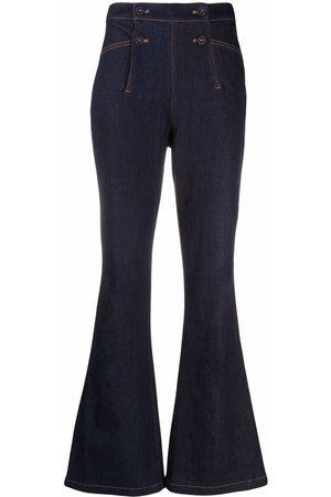 Diane von Furstenberg Women Flares - Flared denim jeans