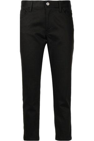JUNYA WATANABE Mid-rise slim cut trousers