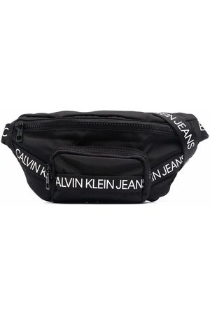 Calvin Klein Logo tape bum bag