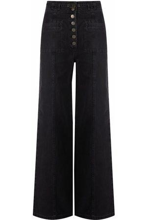 ULLA JOHNSON Abrams high-waisted wide-leg jeans