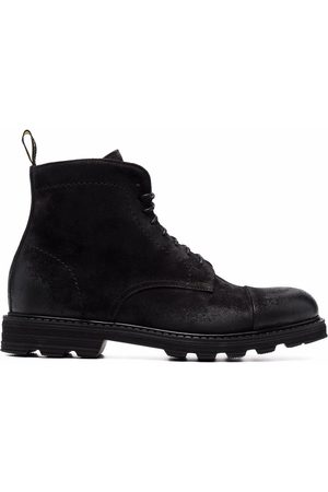 Doucal's Men Lace-up Boots - Lace-up leather boots