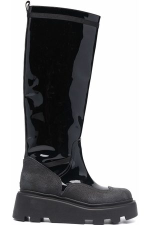 Premiata Women Boots - Patent leather boots