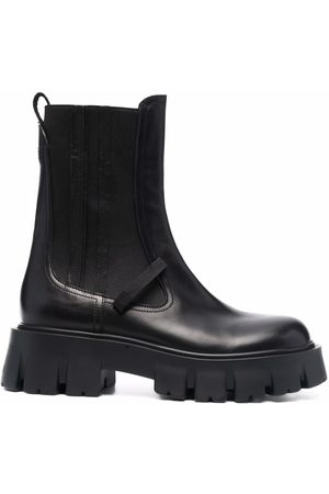 Premiata Chunky sole ankle boots