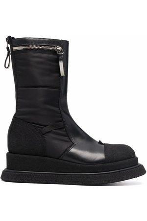 Premiata Zip-detail leather boots